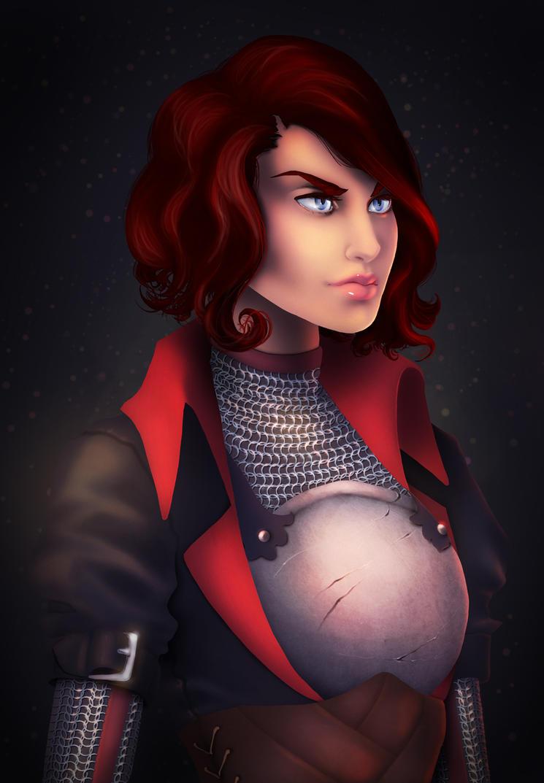 Marian Hawke by STracyArt