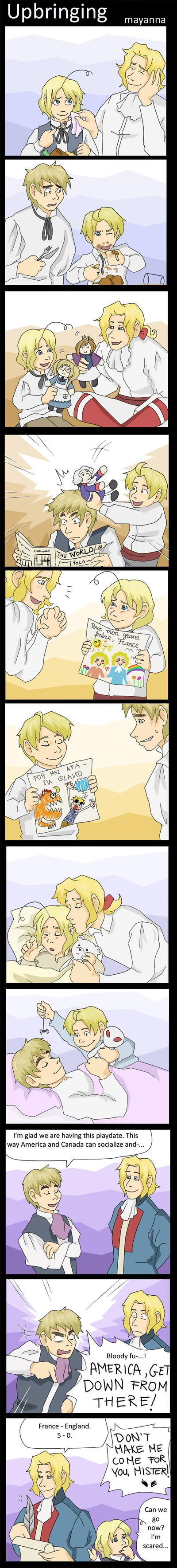 Hetalia: Upbringing by mayanna
