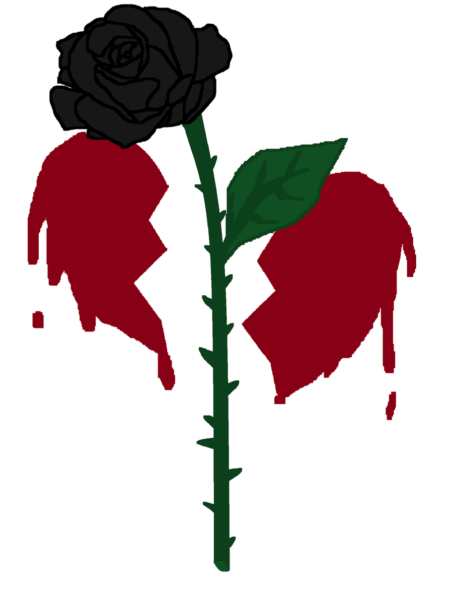 Black Roses And Hearts