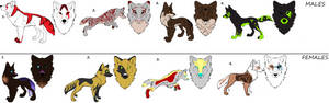 Wolf Breedables