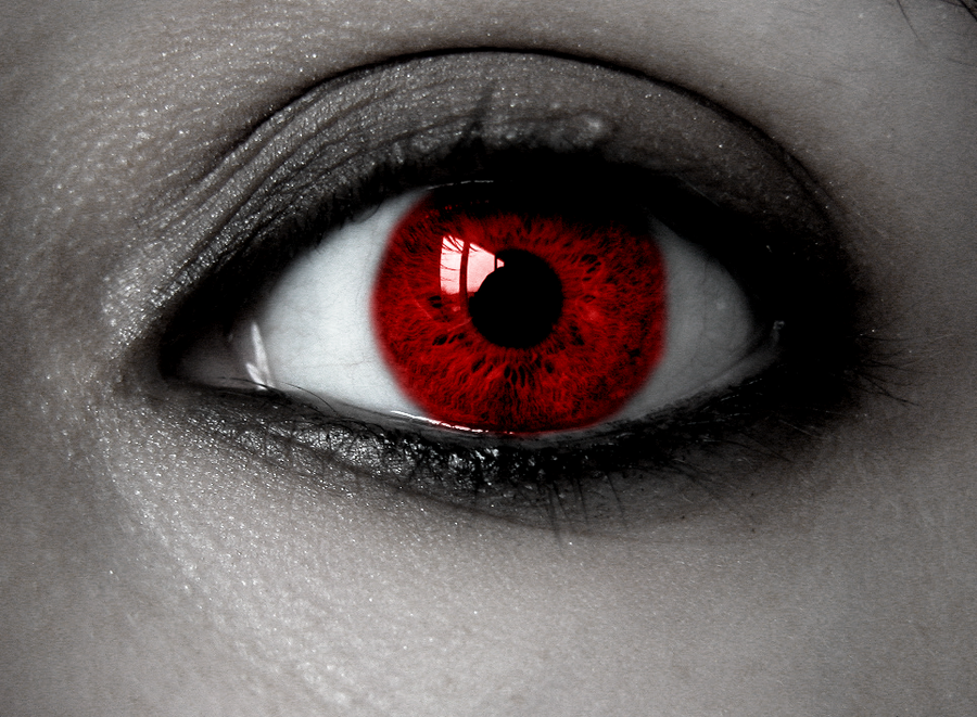 Vampire Anime Eyes Eye of the vampire by ...