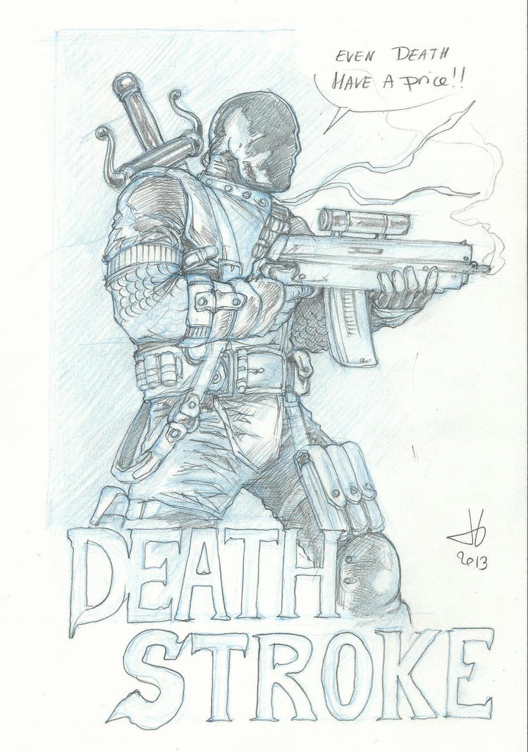 coloring pages of deathstroke costume - photo#11