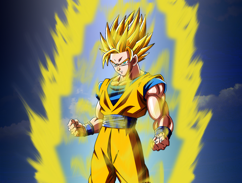 Goku super saiyan 2 by tomnamikaze on deviantart - Goku vs vegeta super saiyan 5 ...