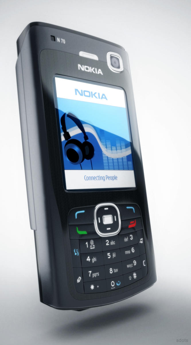 Nokia N70 Visualization by sdots