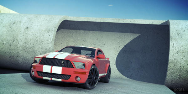 Ford Mustang Bettered by sdots