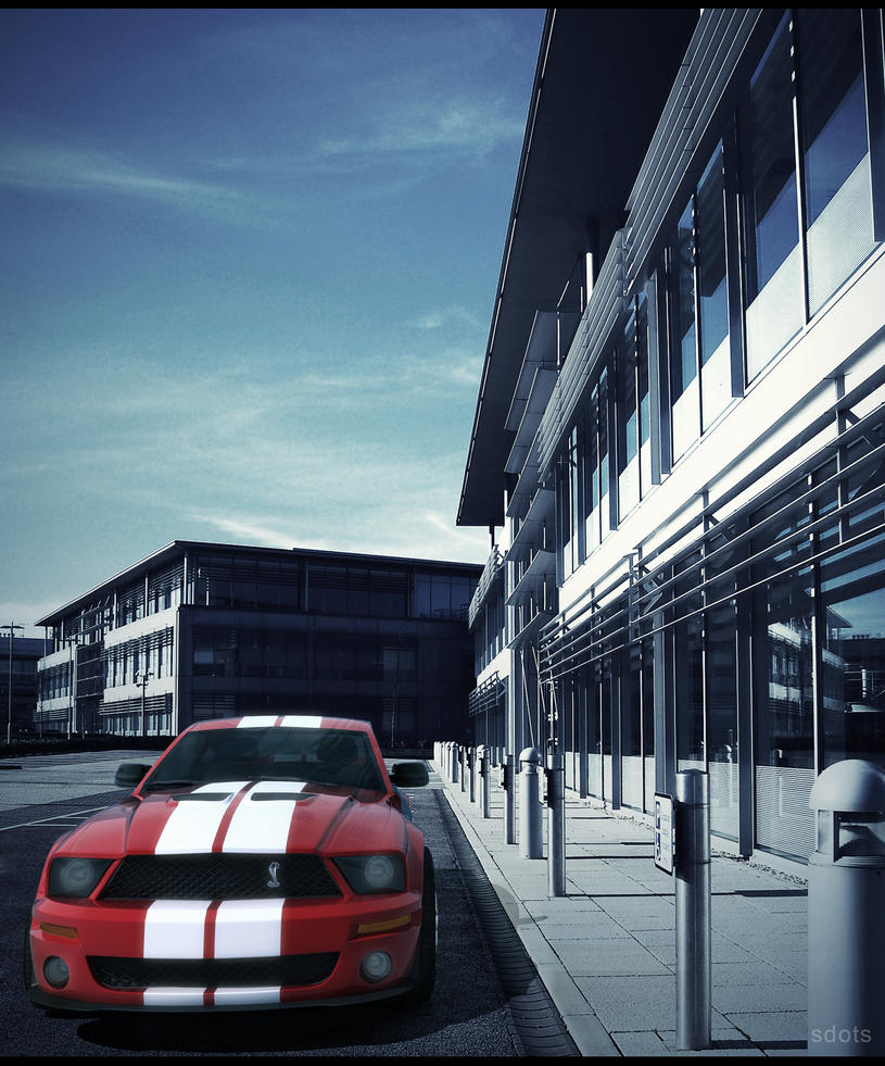 Ford Mustang GT500_Red by sdots