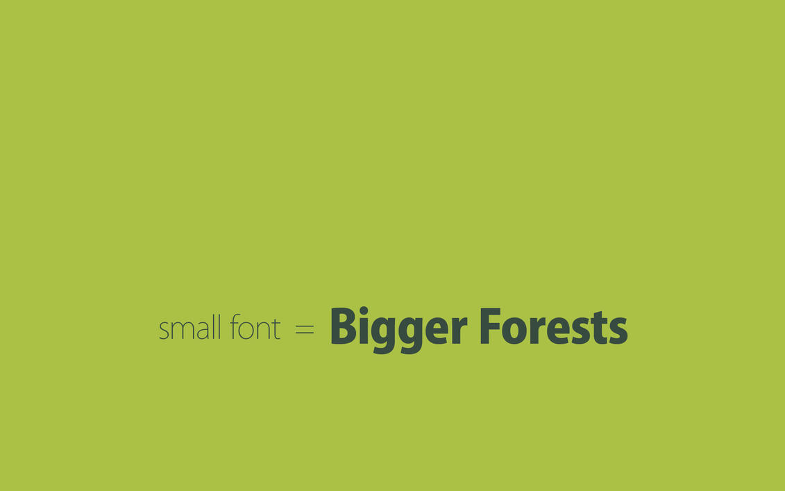 Save Forests by sdots