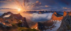 Norway. The island of Senja.
