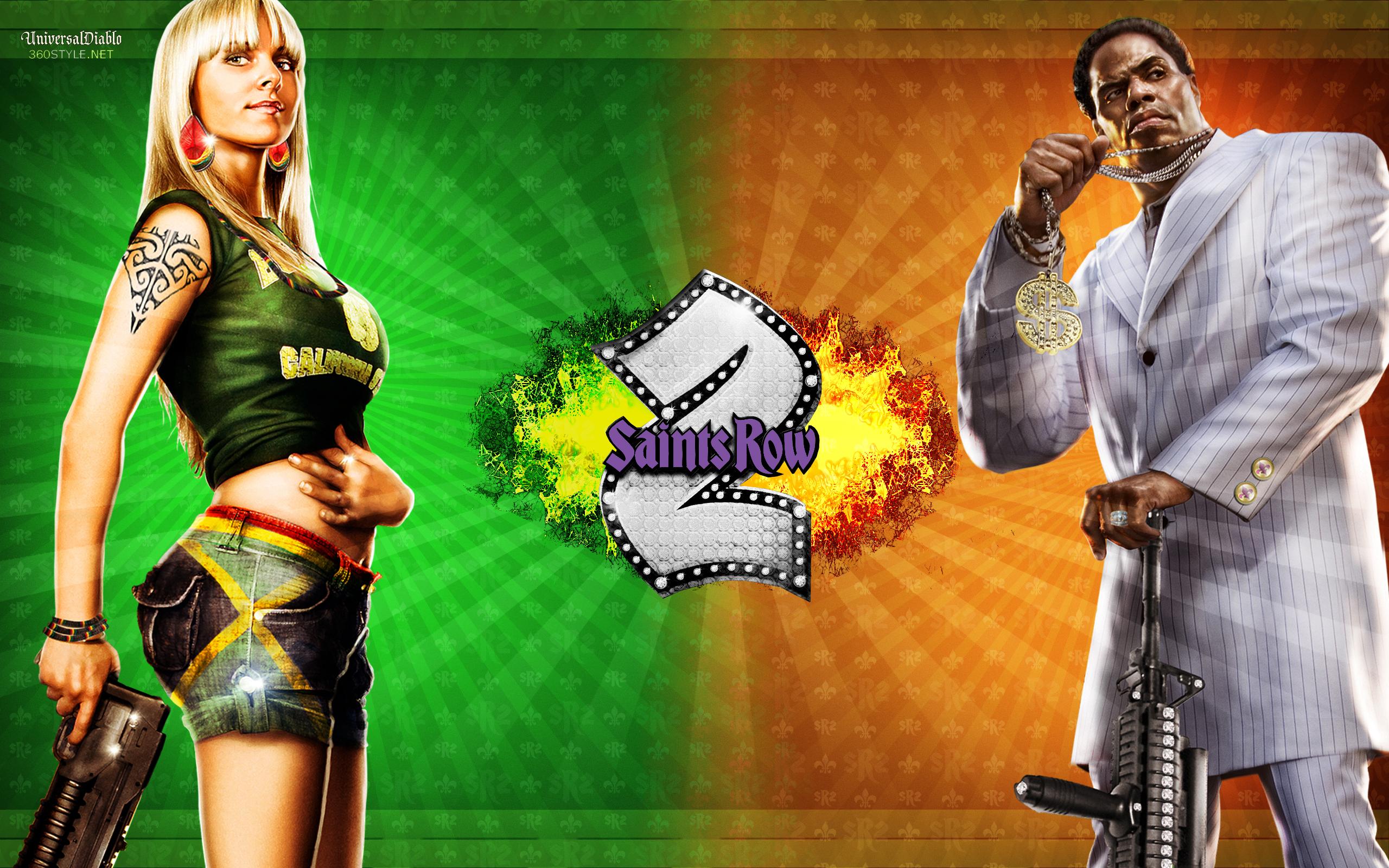 SaintsToTheEnd: Saints Row 2 Desktop Wallpaper