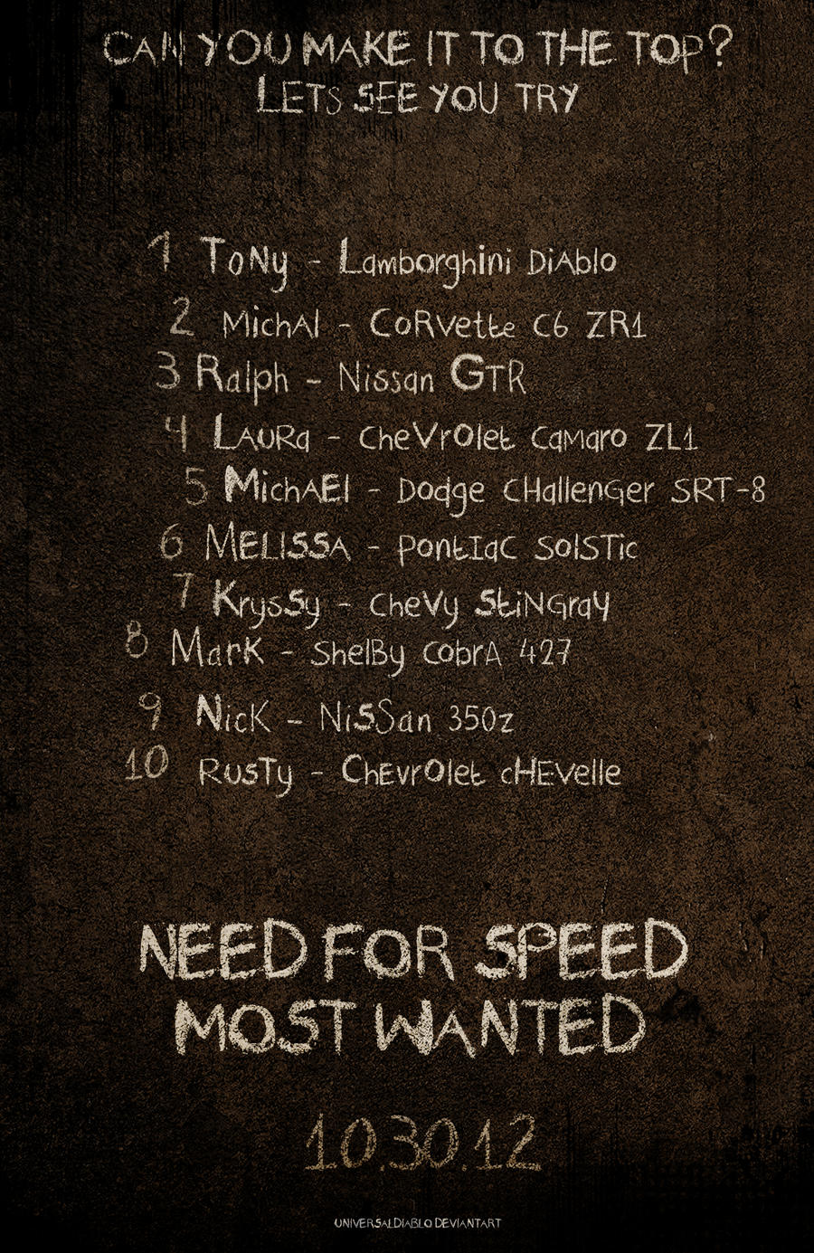 Need for speed most wanted blacklist 6