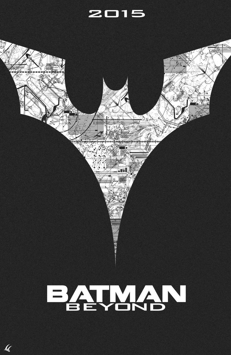 Batman Beyond Symbol Tattoo Lo