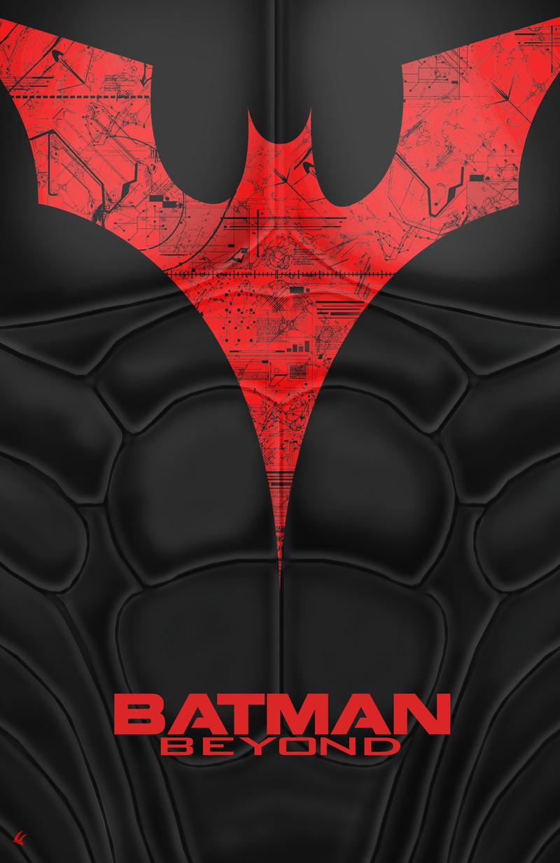 Batman Beyond Chest Poster by UniversalDiablo
