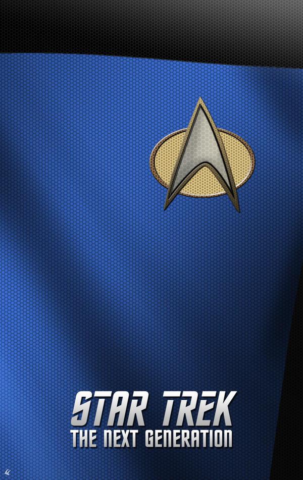 Star Trek The Next Generation Science Poster By UniversalDiablo