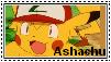 Ashachu Stamp by RyanPhantom