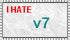 I HATE v7 Stamp by RyanPhantom