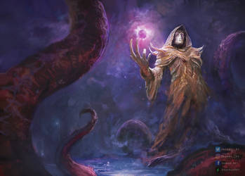 Hastur from Lovecraft's universe by Shankss991
