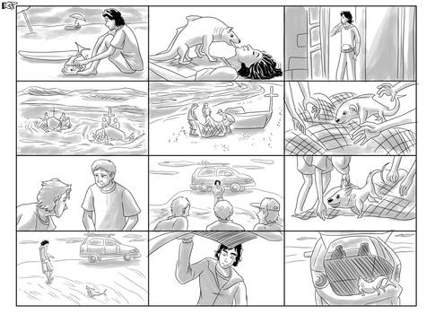 Storyboard Puppy-fish Volkswagen SpaceFox Page 2