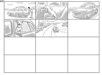 Storyboard Puppy-fish Volkswagen SpaceFox Page 3