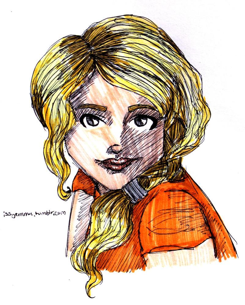 Annabeth by HoneyJadeCrab