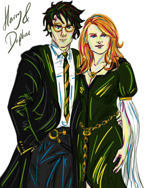 Harry and Daphne by HoneyJadeCrab on DeviantArt