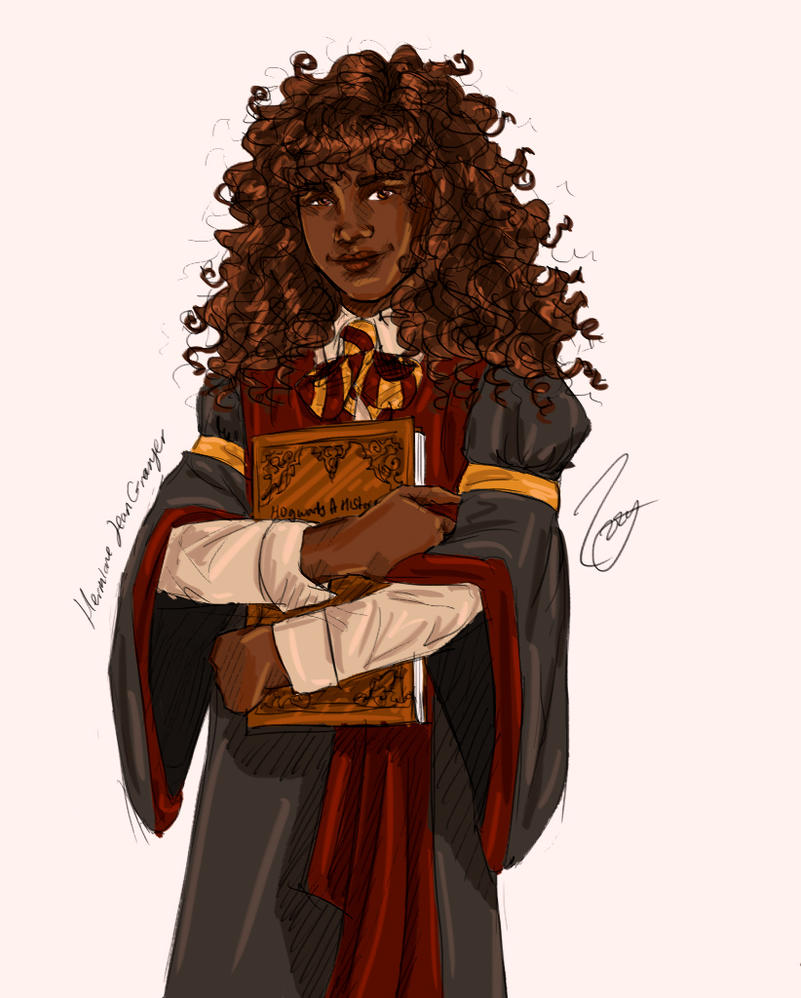 Hermione by HoneyJadeCrab
