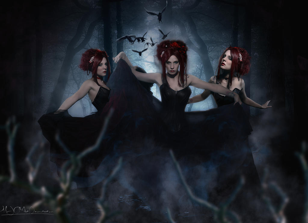 The 3 Muses by MJClArt