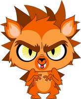 Russell the Hedgewolf by Fercho262