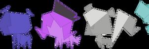 Origami Pets by Fercho262