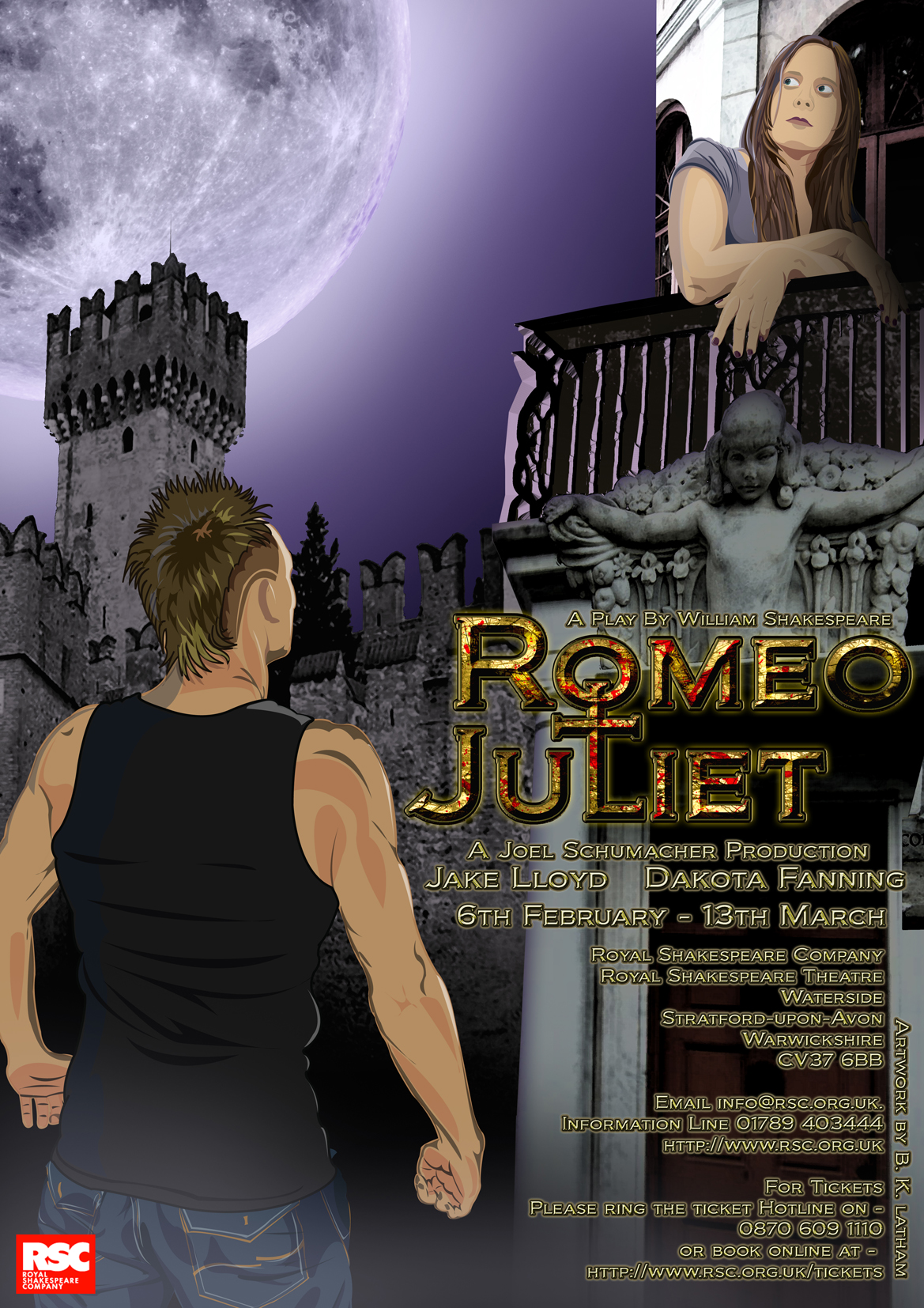 Romeo And Juliet Poster by Benersphere on DeviantArt