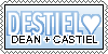Destiel Stamp by kaylalaxx