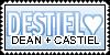 Destiel Stamp by kaylalaxx