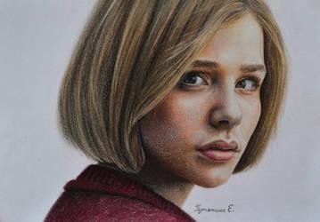 Chloe Grace Moretz by PutyatinaEkaterina