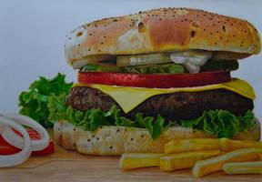 Hamburger by PutyatinaEkaterina