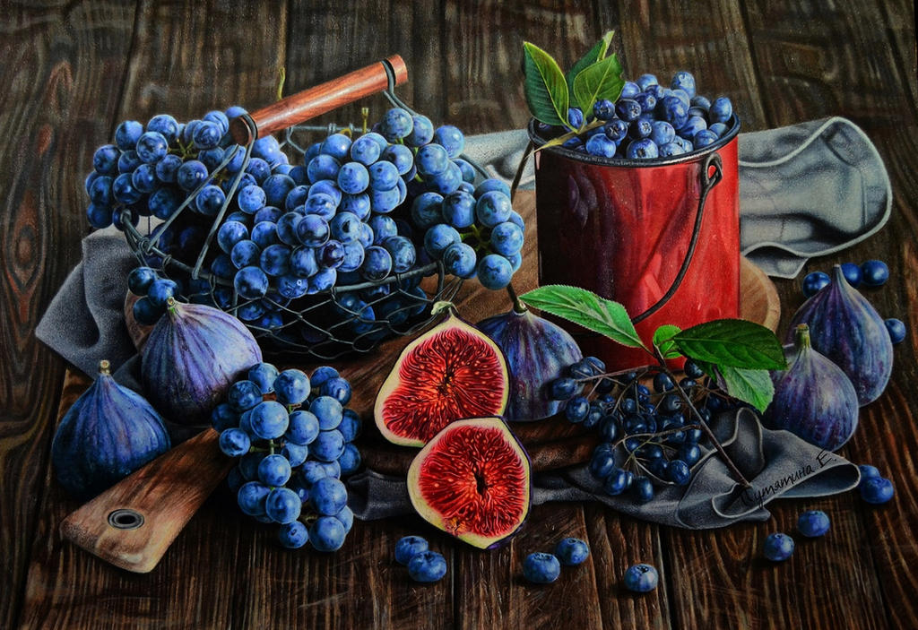 виноград от PutyatinaEkaterina