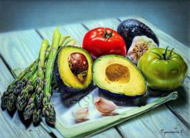 avocado by PutyatinaEkaterina