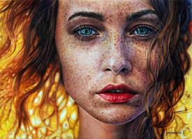 Red hair by PutyatinaEkaterina