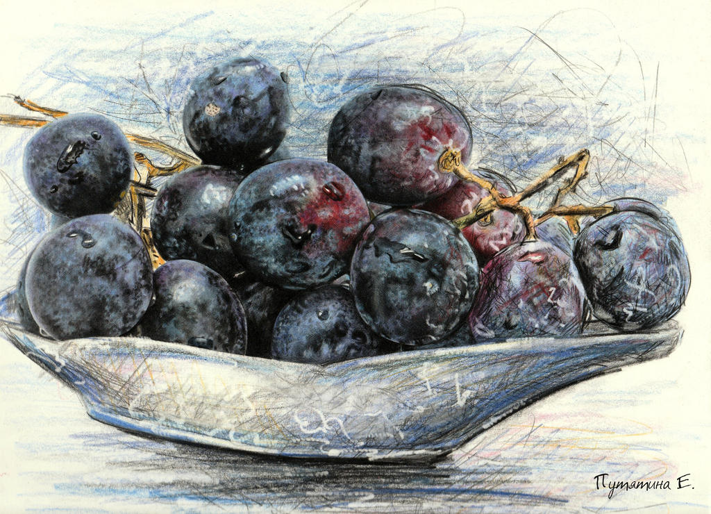 grapes by PutyatinaEkaterina