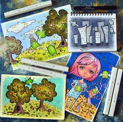 sketches by PutyatinaEkaterina