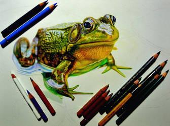The process of drawing by PutyatinaEkaterina