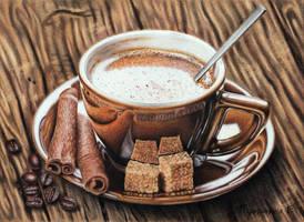 Flavored coffee by PutyatinaEkaterina