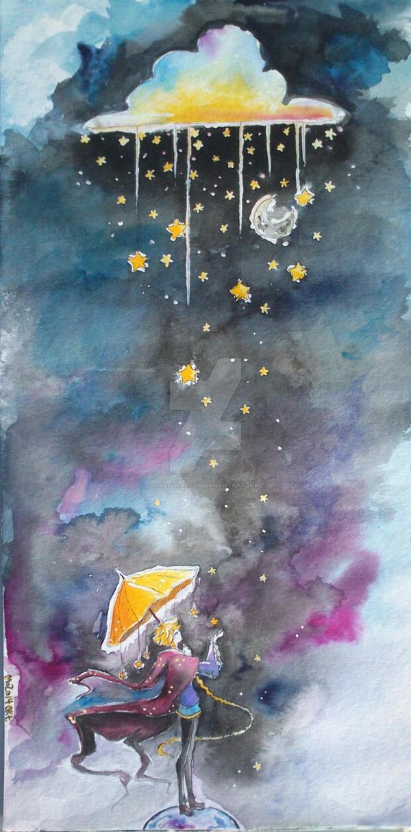 it's raining stars tonight by WondLaXCVIII