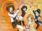 Happy BD Fatal Frame by Conejita-Ginny