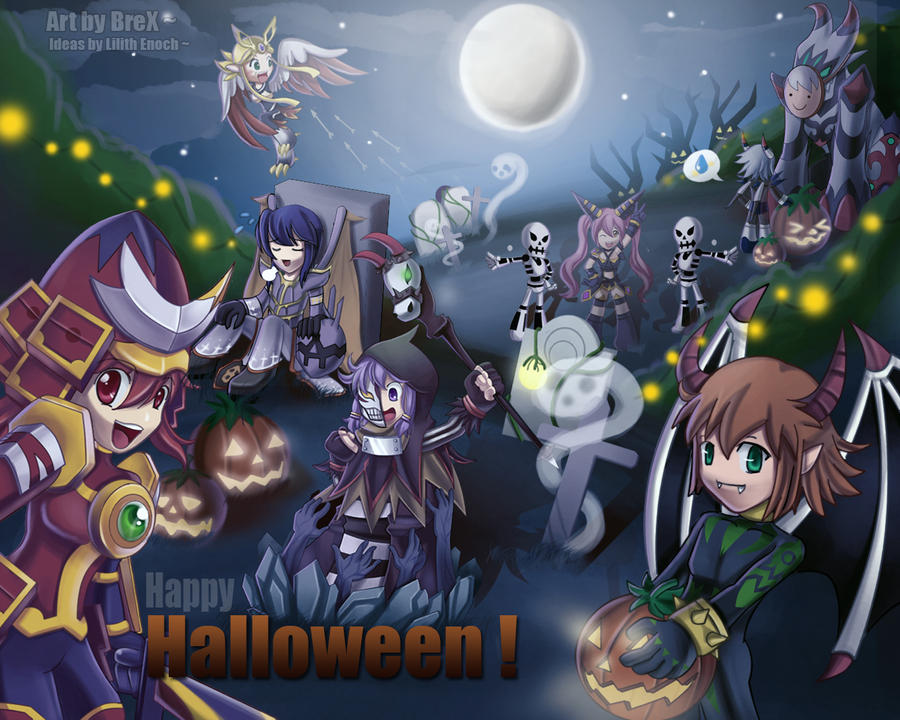 October Fest: Nuevo sistema y maratones GrandChase__s_Halloween_by_Brex5