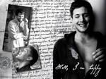 Dean and Castiel - happy