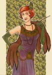 Art Trade - 1920s Lady
