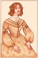 1830s Birthday Card by Velven