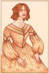 1830s Birthday Card