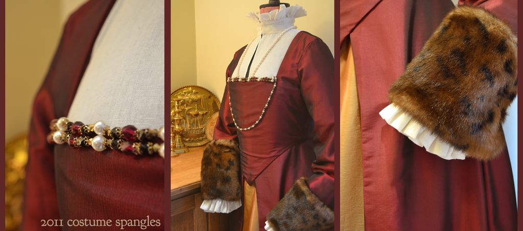 c.1580s Middle Class Gown by Velven