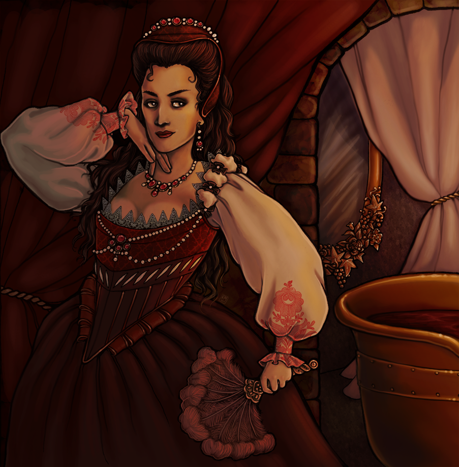 Elizabeth Bathory by Velven on DeviantArt