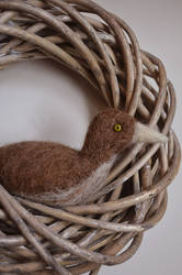 Needle Felted Bird by Velven
